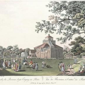 Lorenz Janscha: Ansicht des Panorama beym Eingang im Prater, ca. 1810