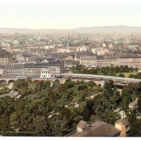Blick vom Riesenrad, 1900