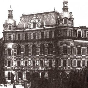 Blindeninstitut, um 1900