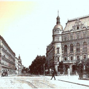 Böcklinstraße, Ecke Wittelsbachstraße, 1910