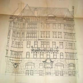 Entwurf Böcklinstraße 8, 1903 (Friedrich Krombholz und Josef Schalberger)