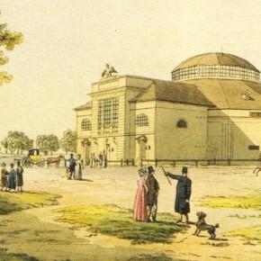 Zirkuswiese, Circus de Bach (Architekt: Joseph Kornhäusel), 1808
