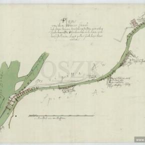 Donaukanal, Plan, 1872