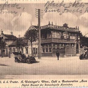 Prater: Restaurant Zum Eisvogel, 1914