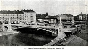 Franzensbrücke, 1899
