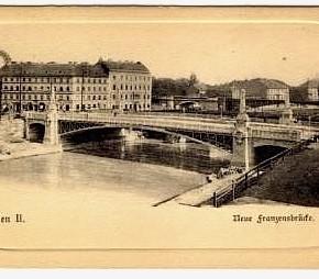 Franzensbrücke, 1900