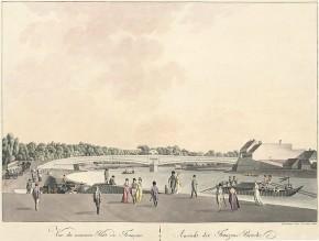 József Lántz: Franzensbrücke, 1805