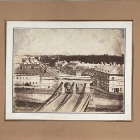 Franzensbrücke, 1850