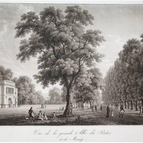 Hauptallee, 1821