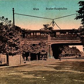 Hauptallee, ca. 1910