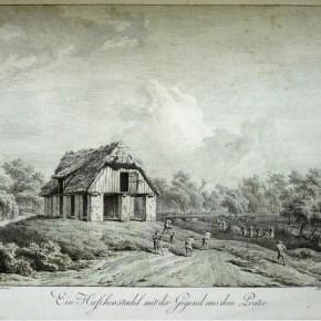 Zwischen Franzens- und Sophien/Rotundenbrücke, 1835