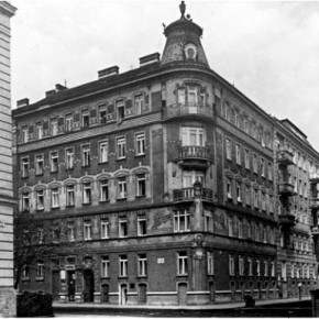 Elias Canetti und Carl Goldmark in der Josef-Gall-Gasse 5, 1913-1915