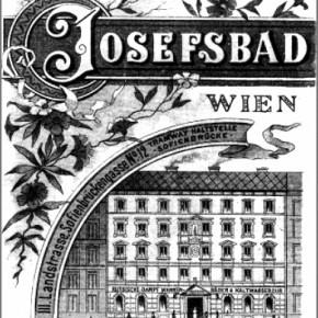 Josefsbad, Sofienbrückengasse (nun: Kundmanngasse) 12, um 1900