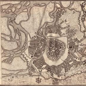 Wien, 1800. Karte von J. Stockdale (London)