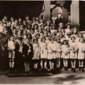 Pfarre am Schüttel, 1946