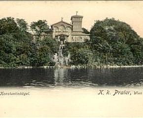 Konstantinhügel, um 1900