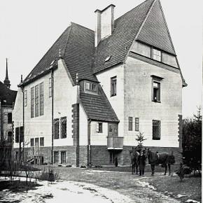 Der Maler als Architekt: Rustenschacherallee 30, 1907