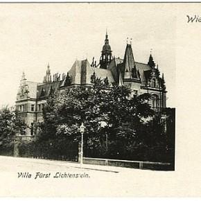 Böcklinstraße 39, Villa Liechtenstein, um 1905