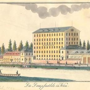 Die Mühle am Schüttel, vor 1900