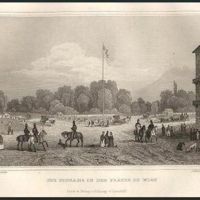 Der Eingang in den Prater zu Wien, 1837