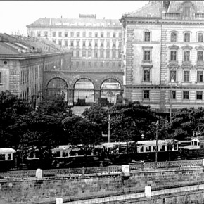 Weissgerberlände: Elektrische Lokalbahn Wien - Pressburg (1914)
