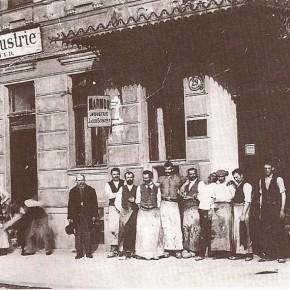 Schüttelstraße 29, um 1900
