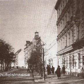 Ecke Schüttelstraße/Tiergartenstraße, um 1920