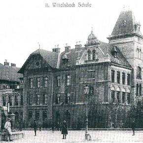 Schule Wittelsbachstraße, um 1905