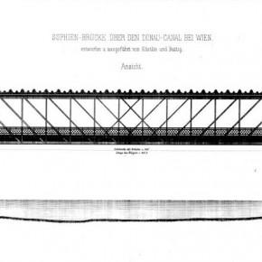 Sophienbrücke/Rotundenbrücke (Entwurf), 1876