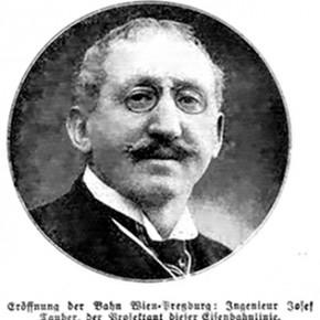 Karl Kraus über die Bahn Wien-Pressburg, 1914