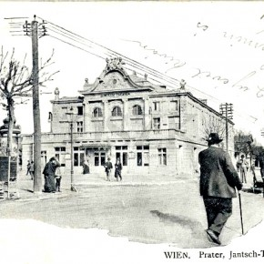 Wurstelprater, Jantsch-Theater, um 1903