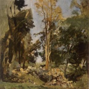 Tina Blau: Prater, 1882