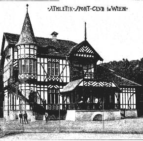 Clubhaus des WAC, 1899