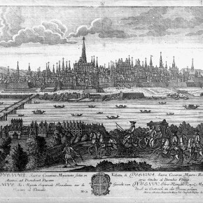 Ansicht von Wien, 1760