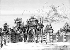 Tiergarten am Schüttel: Erweiterung, 1895