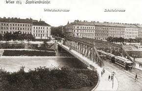 Sophienbrücke/Rotundenbrücke und Schüttelstraße (Datum unbekannt)
