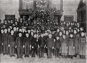 Weihnachten im Blindeninstitut, 1901