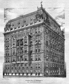 Entwurf für das Wohnhaus Paffrathgasse 6 (1900)