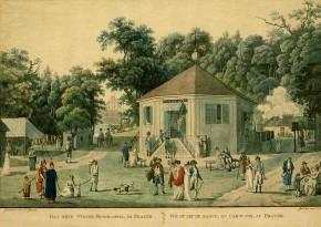 Lorenz Janscha: Das neue Ringelspiel im Prater, um 1790