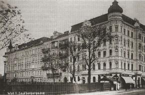 Ecke Schüttelstraße/Laufbergergasse (Datum unbekannt)