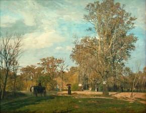 Tina Blau: Apriltag im Prater, 1889