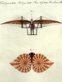 Jakob Degen fliegt im Prater, 1808