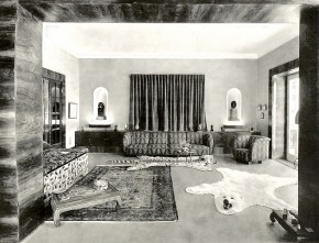 Interieur Villa Hériot, Rustenschacherallee 30 (1931)