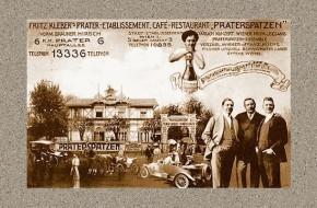 Brüder Kleber, Restaurant Praterspatzen (um 1915)