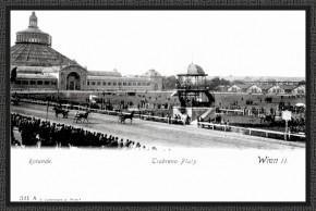 Renntag in der Krieau, vor 1903