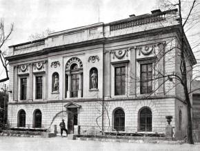 Das Kornhäusel-Palais am Schüttel, 1901