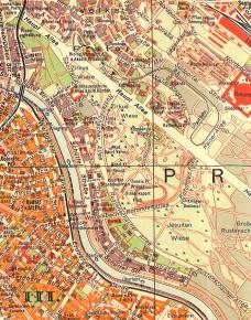 Stadtplan 1929