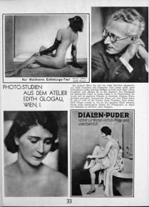 Modefotografie de luxe: Edith Glogau, Schüttelstraße 73 (ca. 1909-1938)