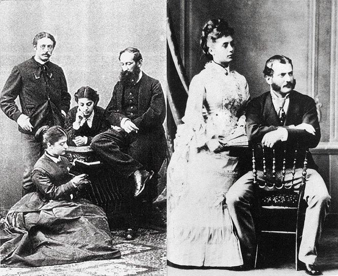 Die Baltazzi-Schwestern und ihre Ehemänner Vetsera, Saint-Julien und Stockau