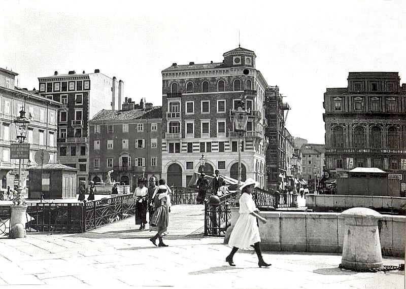 Triest, Canale Grande, 1914